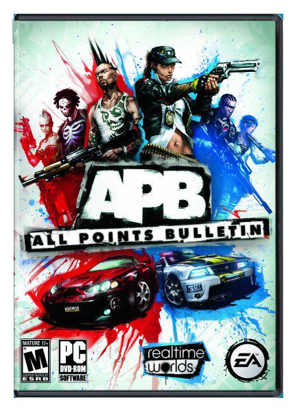 Оригинальное название APB Reloaded (All Points Bulletin) Год выхода.